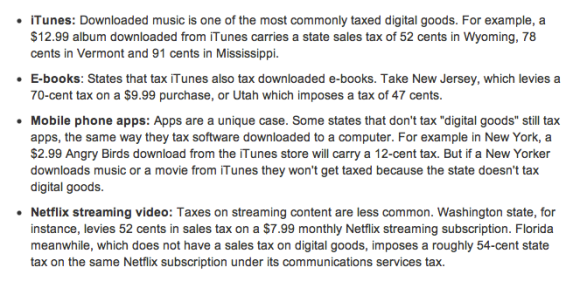 Are you paying the iTunes and digital downloads tax?