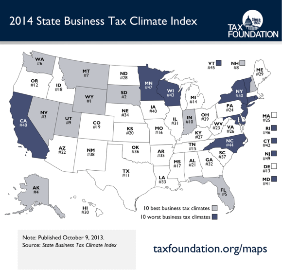 Image Courtesy of: The Tax Foundation