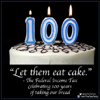 Income Tax 100th Birthday