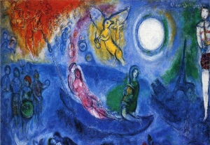 "Marc Chagall (1887-1985) was the ""quintessential Jewish artist of the 20th century"" (Photo Credit: Wikipedia)"